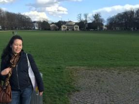 Anna in a Park