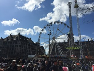 Almost every city has a ferris wheel now, but this one actually looks fun!