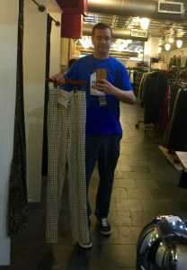 Rarely do I find pants that are too long, especially with a waist that small!