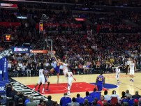 Steph Curry is so fast even the camera couldn't catch him properly