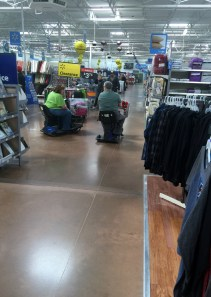 Walmart road-rage