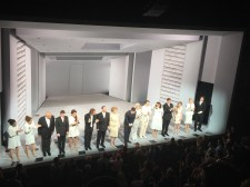 The cast after the show