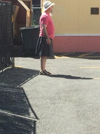 That's not a kilt, that's a skirt