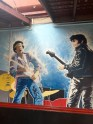 Elvis jammin' with the real King