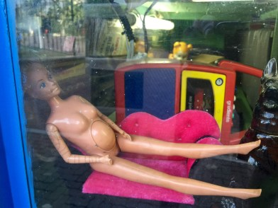 Knocked-up Barbie