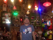 Yours truly in another bar