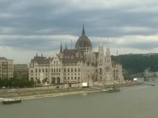 Hungarian Parliament from a distance
