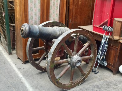 Yup, they even sell canons