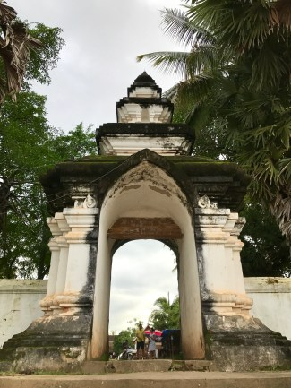 The gateway to a wat