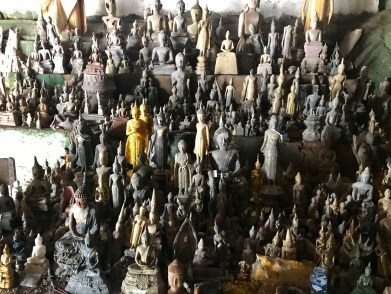 Just some of the Buddha statues