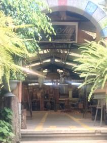 Entering the workshop