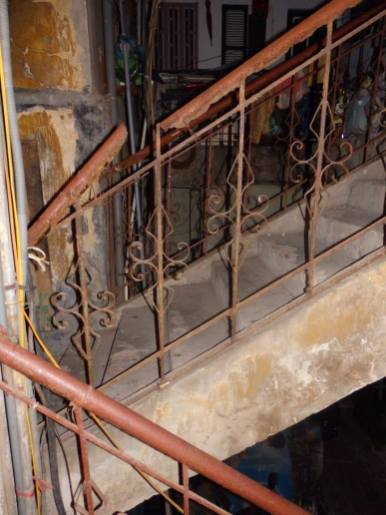 Just need to hope this rear staircase holds up under our weight