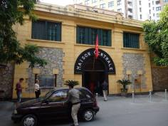 What was once the entrance to Hoa Lo Prison is now the entrance to the museum
