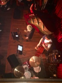 Watching the brilliant band in Huanglou Jazz Bar.