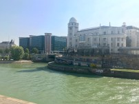 The view across the Danube Canal