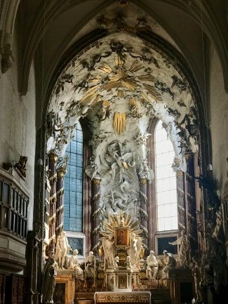 A closer look at Karl Georg Merville's 'Fall of the Angels,' as well as 'Maria Candia'