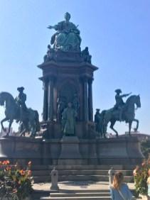 Memorial at Maria-Theresien-Platz