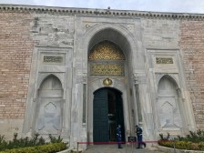 The entrance to Topkopi Palace