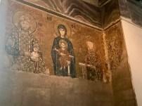 The Comnenus mosaic (c. 1122)
