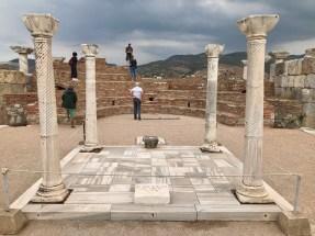 The tomb of John the Apostle