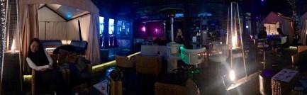 Inside the shisha bar