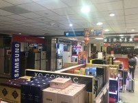 Looking from the standard duty free section