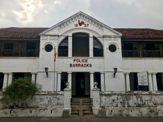 The Galle Police Barracks
