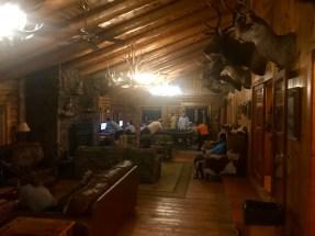 Inside the lounge area