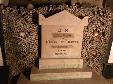 """M.D. bones of St. Laurent Church filed on April 17, 1873"""
