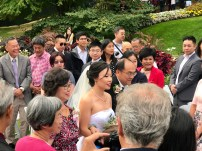 We had barely sat down when Kat came down the aisle