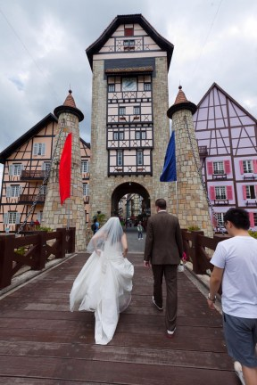 Our wedding in Colmar Tropicale