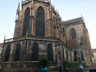 A church in town