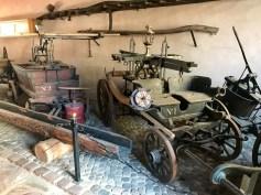 Early 20th century wine-making equipment