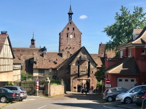 Entering Riquewihr