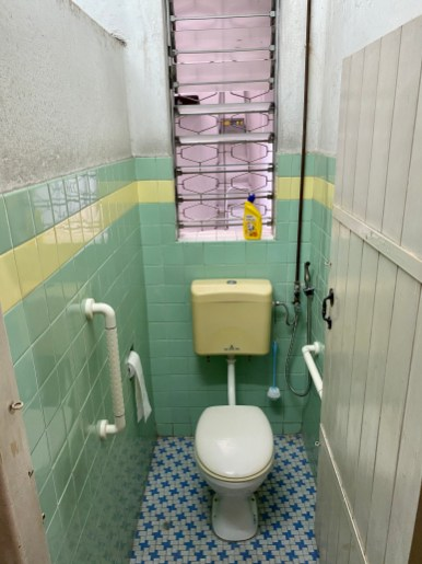 The current toilet