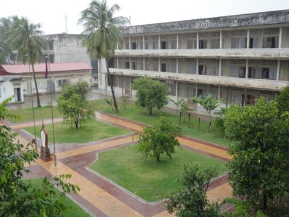 The former secondary school that became S-21