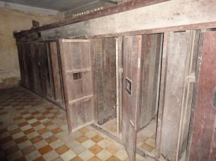 Wooden cells this time in another classroom