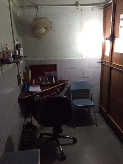 In the Aravind Eye Hospital, Madurai