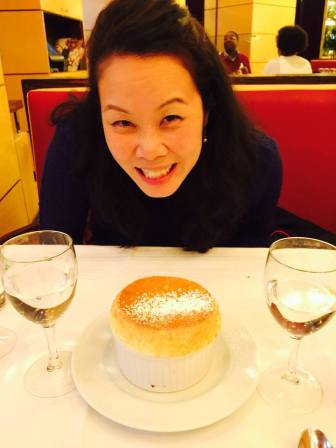 That's decent size soufflé