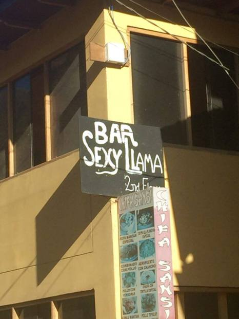 Interesting name for a bar...