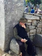 This guy traveled to one of the Wonders of the World just to sit down and do sudoku