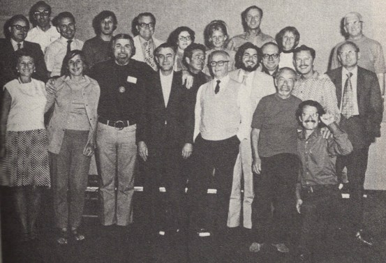 Dr. Thomas A. Harris MD at a Transactional Analysis Conference, 1966