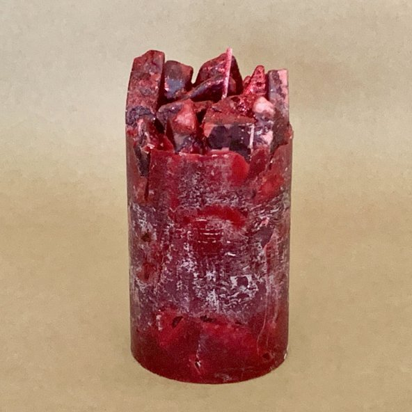 Cranberry Scented Pillar Candle (Cranberry Craze)