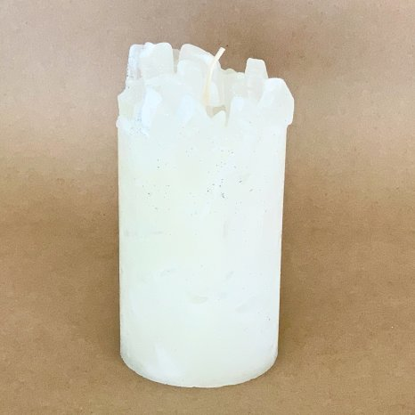 Snow White Spruce Scented Pillar Candle (Blizzard)