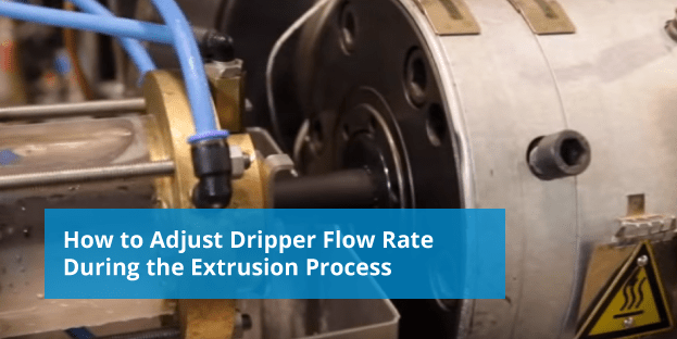 adjusting dripper flow rate