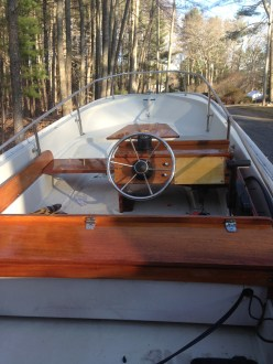 15' Whaler winter project
