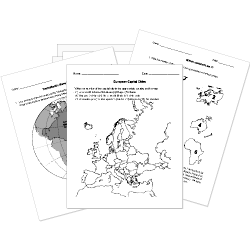 Free Printable World History Worksheets, Tests, and Activities