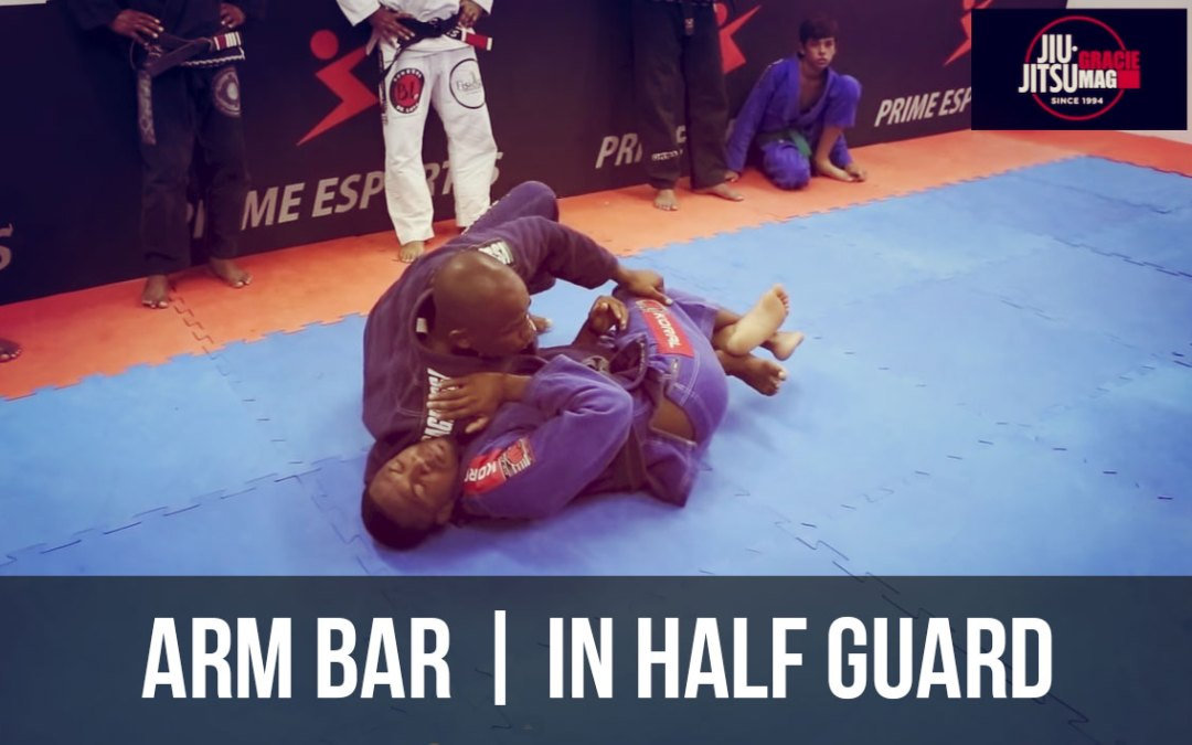 Fernando Tererê teaches a guard pass and an armlock attack