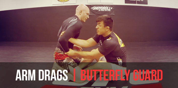 Armdrags from Butterfly Guard