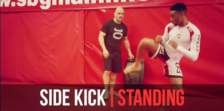 MMA Sidekick Drills and Development Tutorial